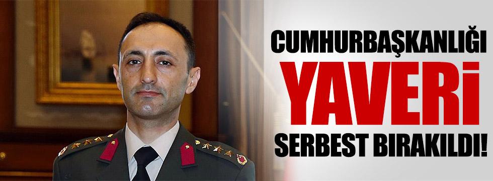 Eski Cumhurbaşkanlığı Yaveri serbest bırakıldı!