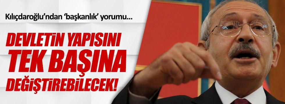 Kılıçdaroğlu'ndan çok sert 'başkanlık' yorumu