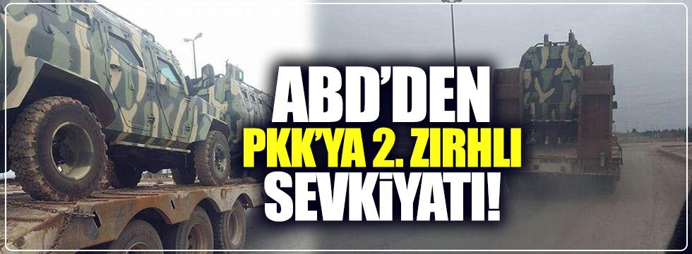 PYD'ye zırhlı araçta ikinci sevkiyat