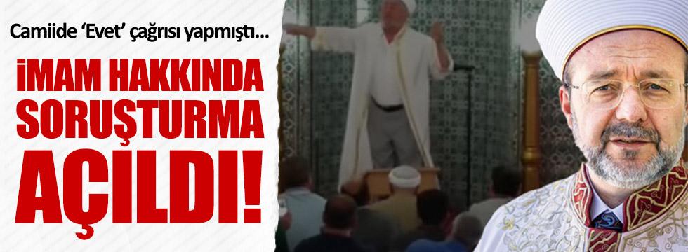 O imama soruşturma açıldı!