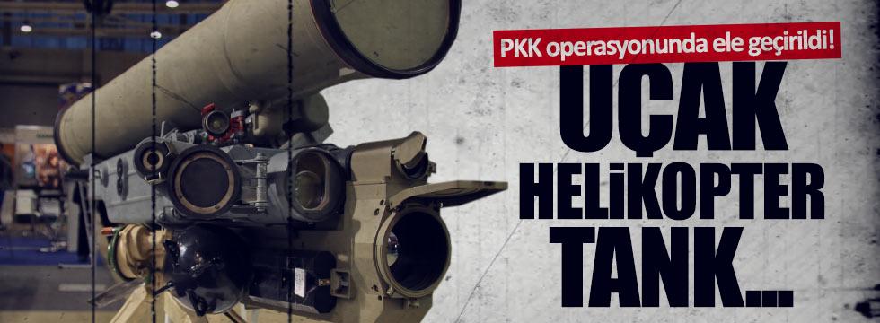 PKK'da anti tank füzesi