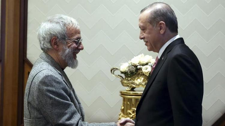 Erdoğan, Yusuf İslam'ı kabul etti.