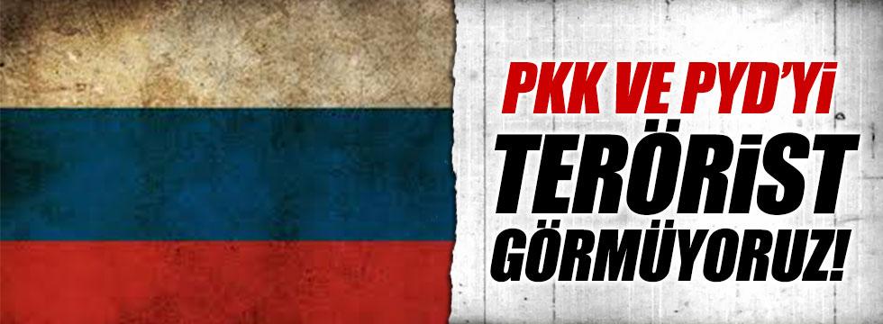 Rusya: PKK ve YPG'yi terör örgütü görmüyoruz