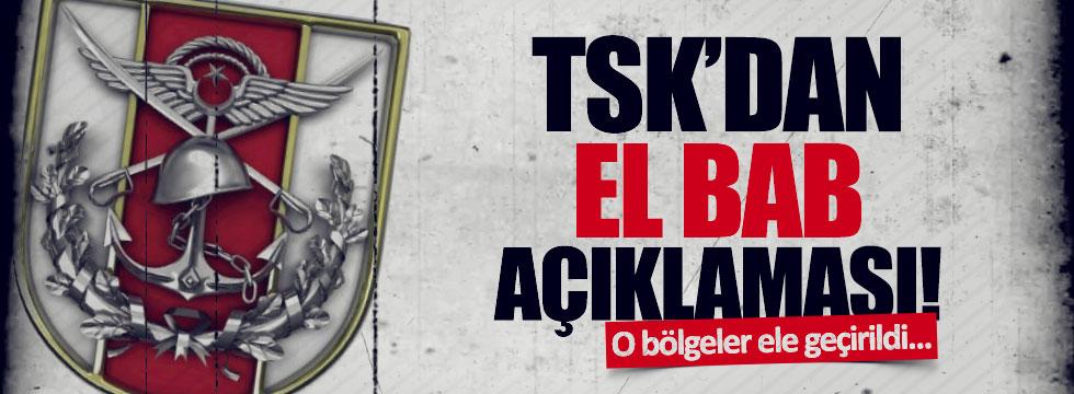 TSK'dan, El Bab açıklaması