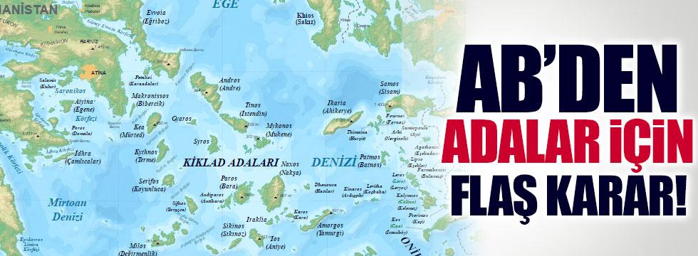 Adalara, AB'den vize kararı