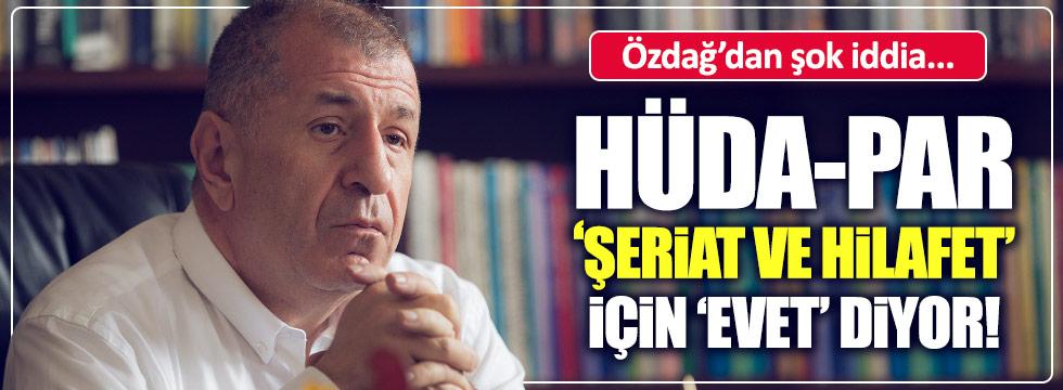 Özdağ: Hizbullah ve Barzani 'Evet' için çalışıyor!