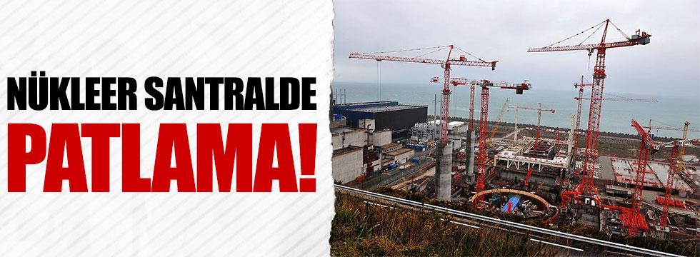 Fransa'da Flamanville nükleer santralinde patlama