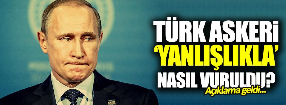 Türk askeri 'yanlışlıkla' nasıl vuruldu?