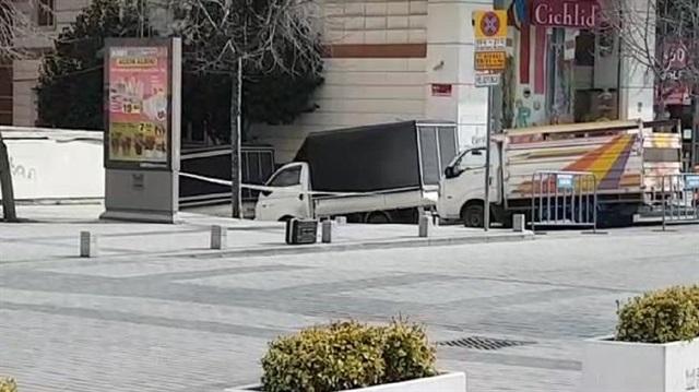 Zeytinburnu'nda şüpheli çanta alarmı