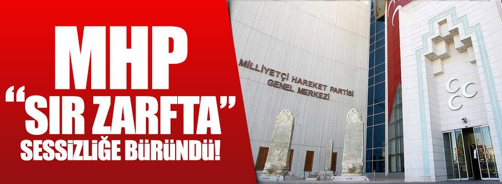 """MHP """"Sır Zarfta"""" sessizliğe büründü!"""