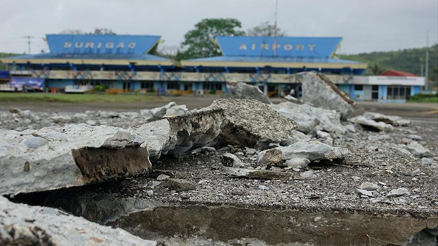 Filipinler'deki depremde 6 kişi hayatını kaybetti