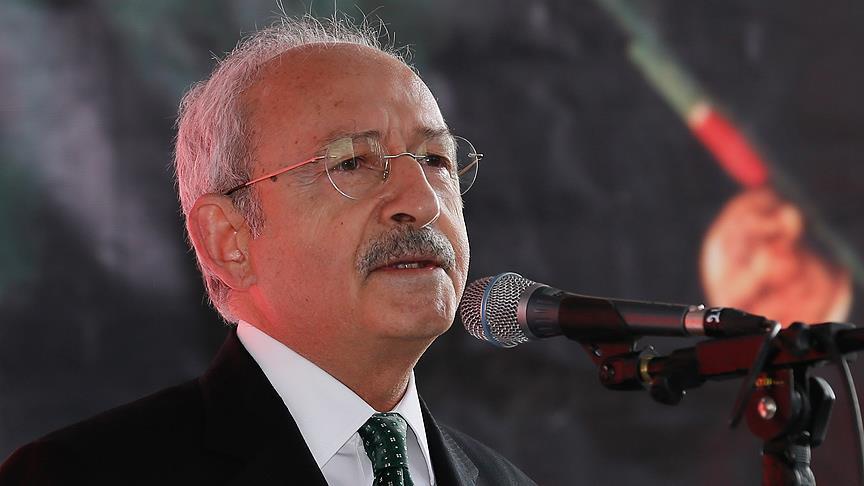 Kılıçdaroğlu Özgecan Aslan'ı andı