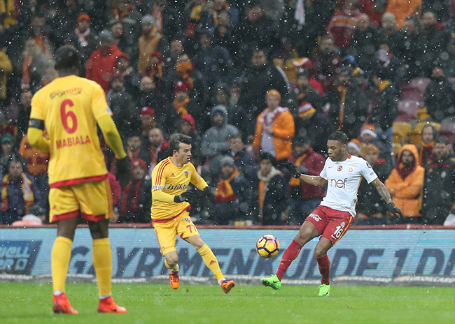 Galatasaray 1-2 Kayserispor / Maç Özeti