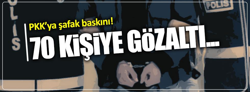 İstanbul'da operasyon...Çok sayıda gözaltı var!
