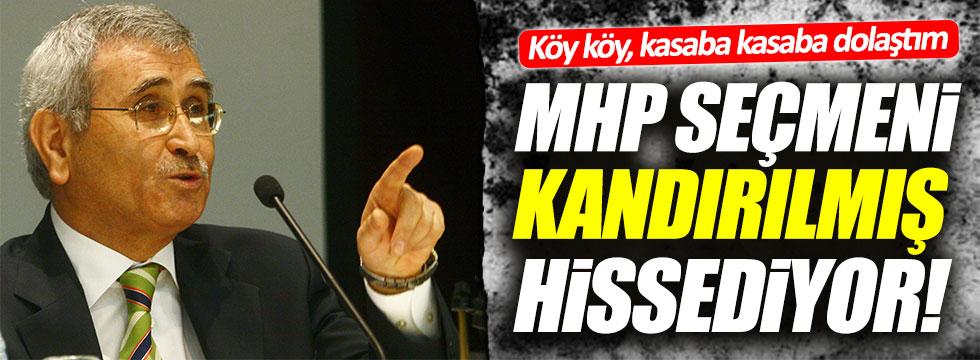 Durmuş Yılmaz: MHP'liler kendini kandırılmış hissediyor