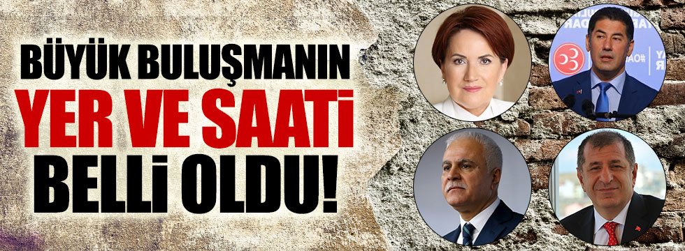 """""""Türk Milliyetçileri 'hayır' diyor platformu"""" Ankara'da buluşuyor"""