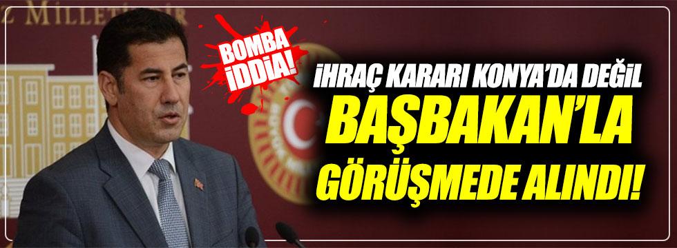 Oğan'dan bomba iddia: İhraç kararı Başbakan'la görüşmede alındı