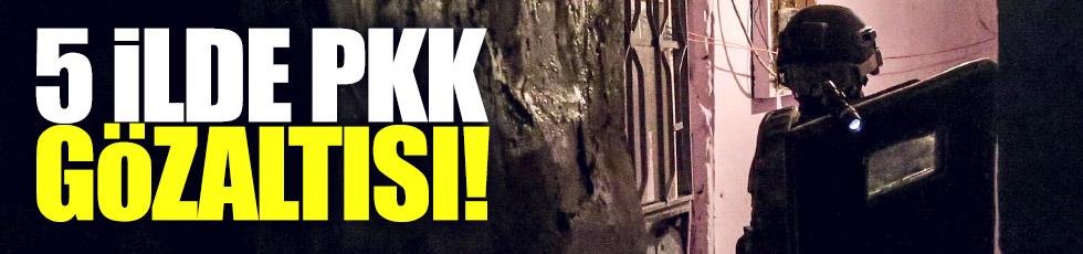 PKK operasyonu: 55 gözaltı