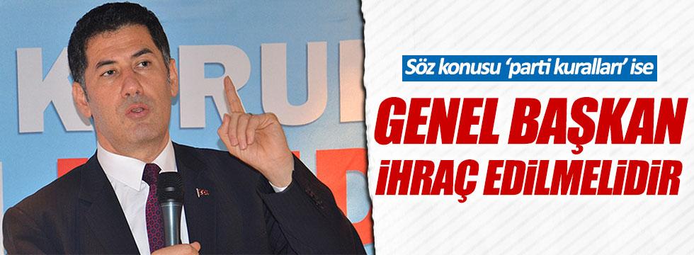 Sinan Oğan: Genel Başkan ihraç edilmelidir