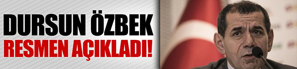 Dursun Özbek Riekerink'i resmen açıkladı