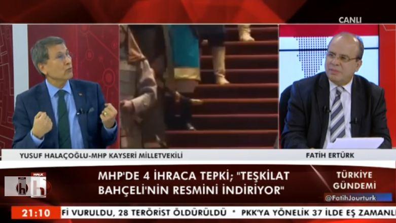 Halaçoğlu: Bahçeli de Arzu Erdem'e oy pullarını teslim etti