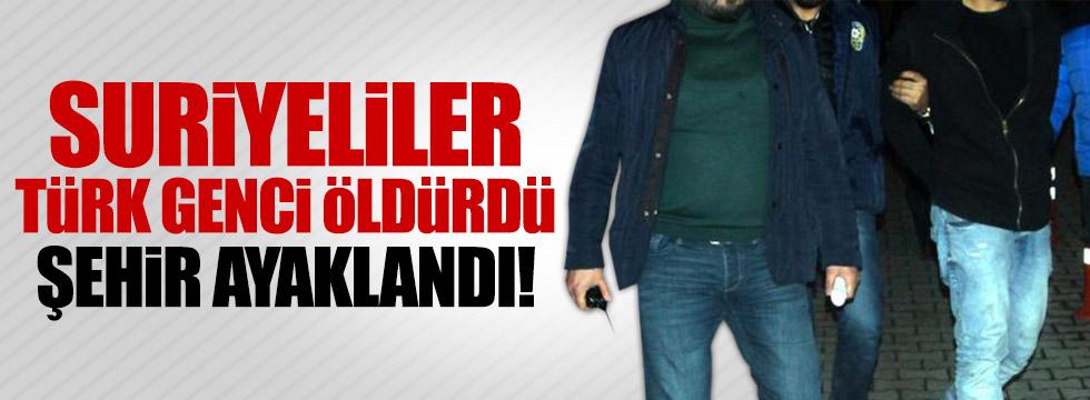 Kayseri'de Suriyeli gerginliği