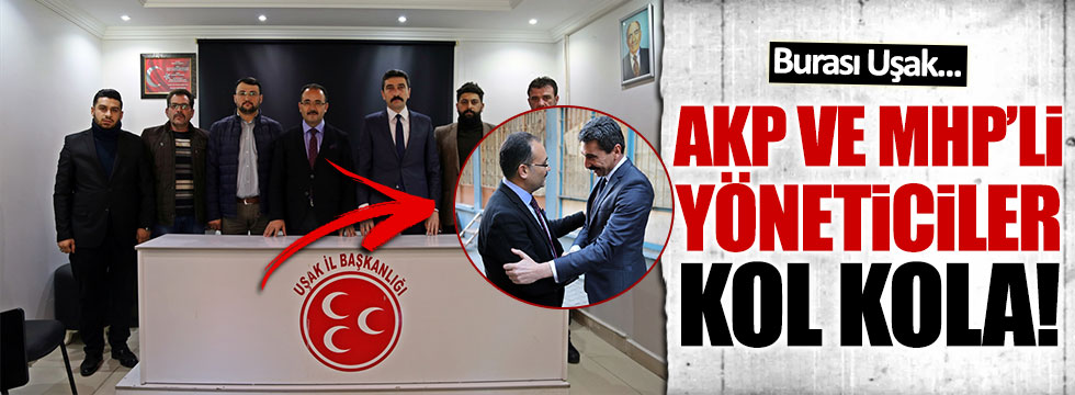 AKP'li Belediye Başkanı'ndan MHP'ye anlamlı(!) ziyaret