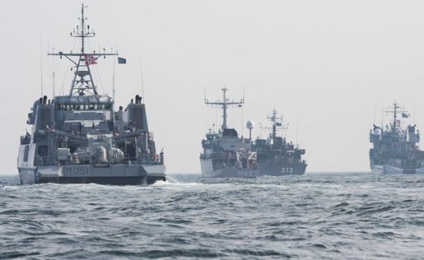 NATO gemileri Samsun'da!