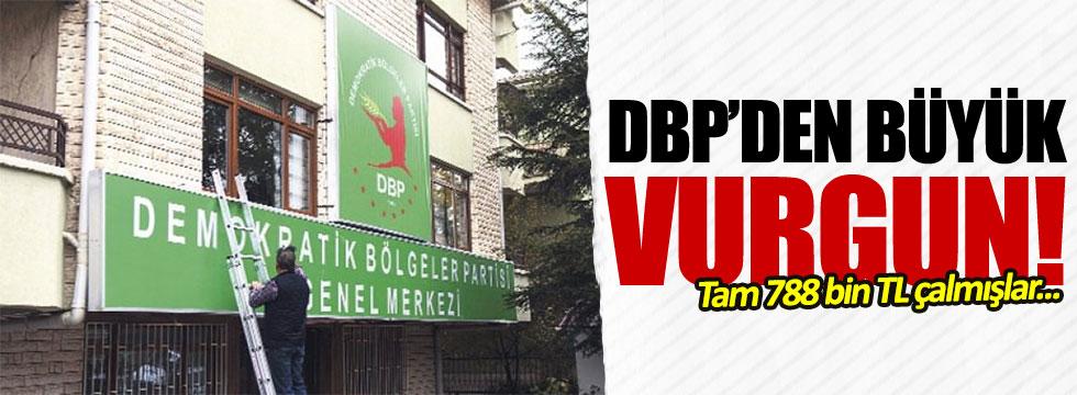 DBP'li belediyede büyük vurgun