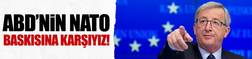 ABD'nin NATO baskısına karşıyız!