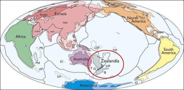 Pasifik'te yeni kıta bulundu
