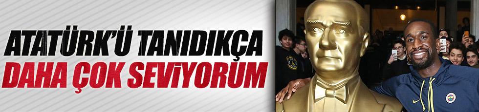 Ekpe Udoh'tan Atatürk açıklaması