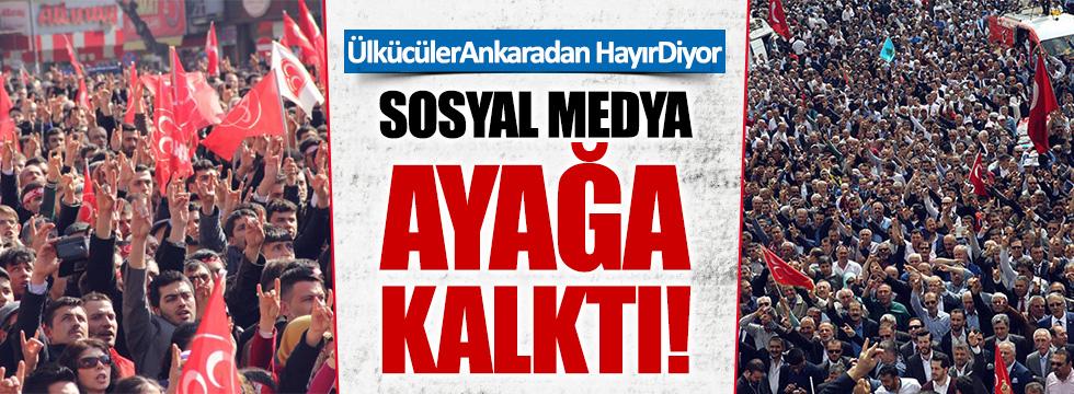 """""""Hayır""""cılar Ankara'da buluşuyor"""