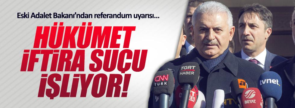 Türk: Hükümet, Anayasa'ya göre iftira suçu işliyor