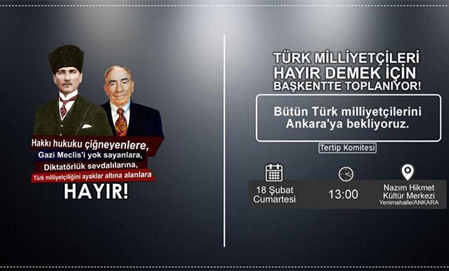 'Hayır' toplantısı 13:00'de Halk TV'de