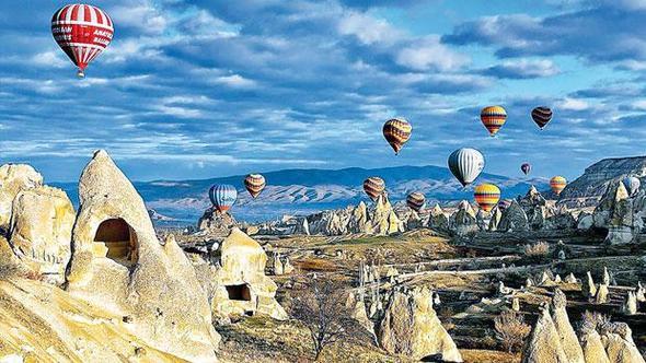 Kapadokya'da feci kaza