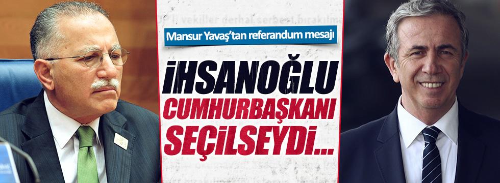 Mansur Yavaş'tan referandum paylaşımı