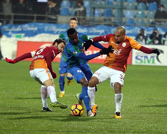 Çaykur Rizespor 1-1 Galatasaray / Maç Özeti