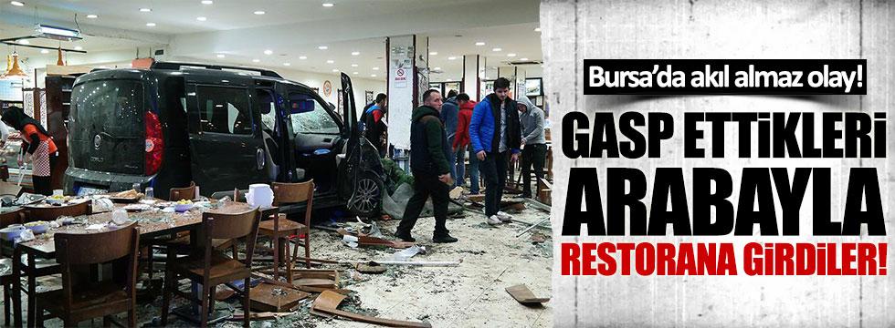 Bursa'da akıl almaz olay