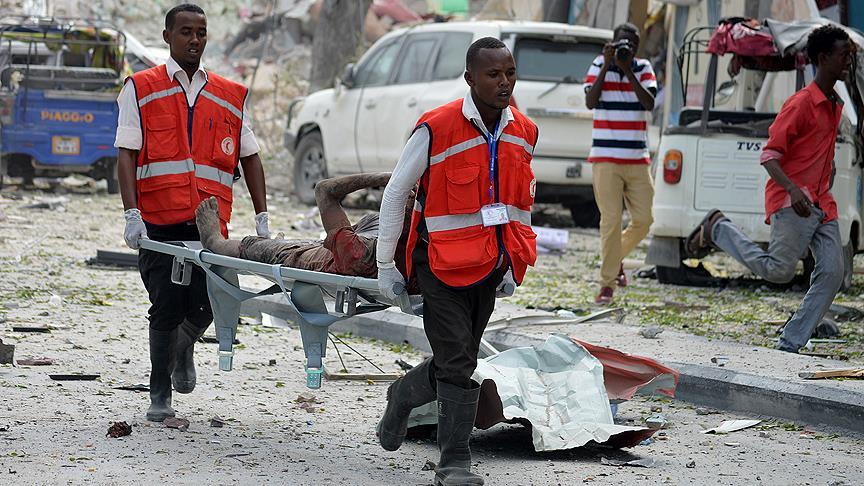 Pazar yerine bombalı saldırı: 20 ölü