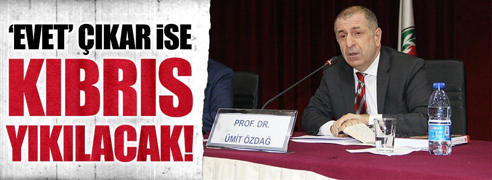 Özdağ'dan çarpıcı Kıbrıs iddiası