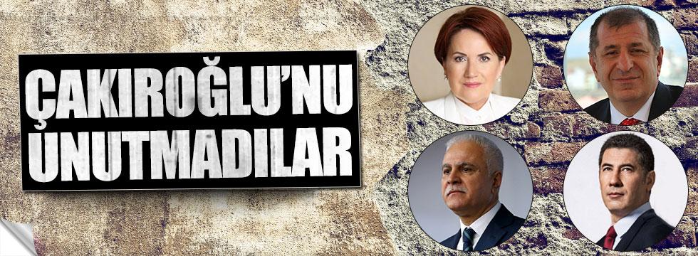 MHP Genel Başkan adayları Çakıroğlu'nu unutmadı
