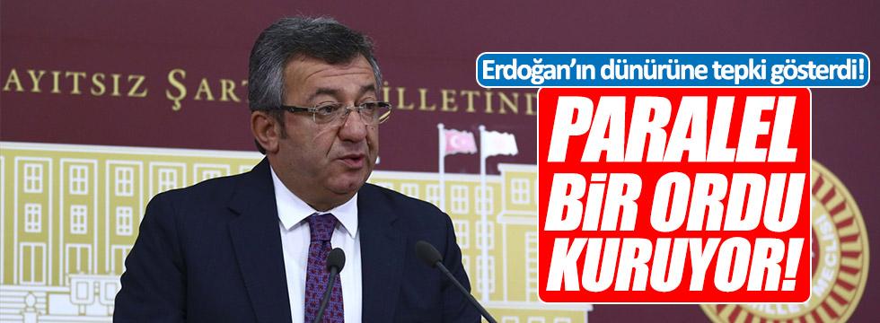 Altay, Cumhurbaşkanı Erdoğan'ın dünürüne tepki gösterdi!
