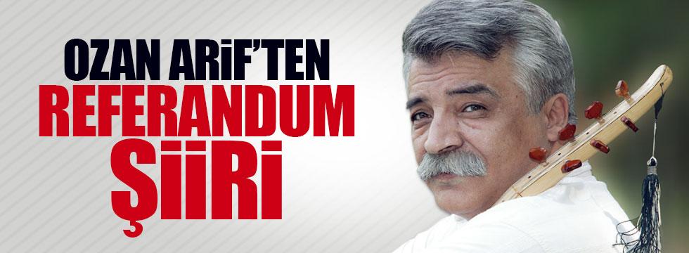 Ozan Arif referanduma böyle 'hayır' dedi