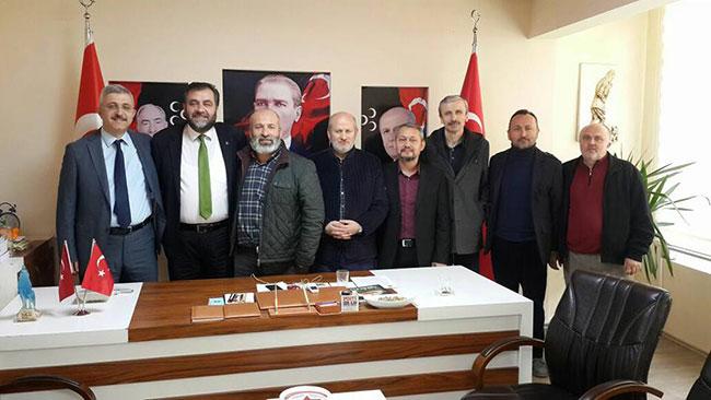 Ensar Vakfı'ndan MHP'ye ziyaret