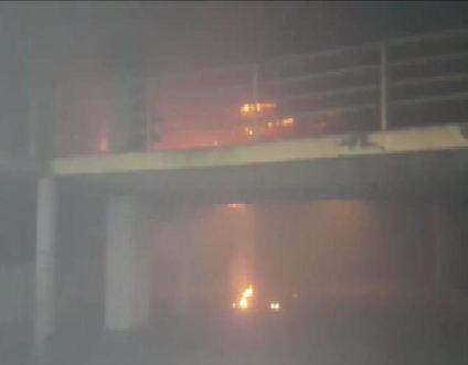 15 Temmuz Demokrasi Otogarı'nda yangın
