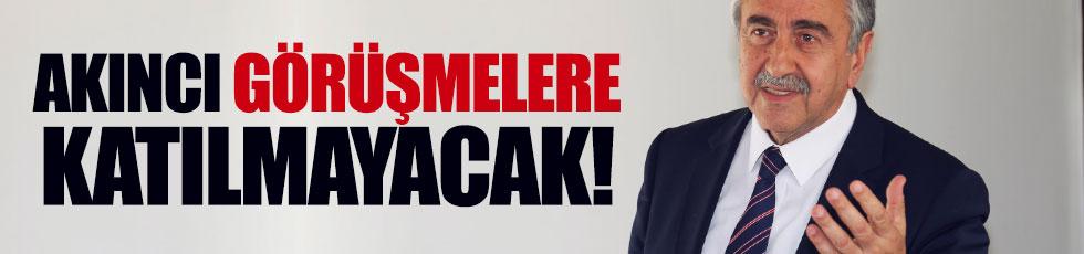 Kıbrıs'ta Türk tarafı görüşmeye katılmayacak