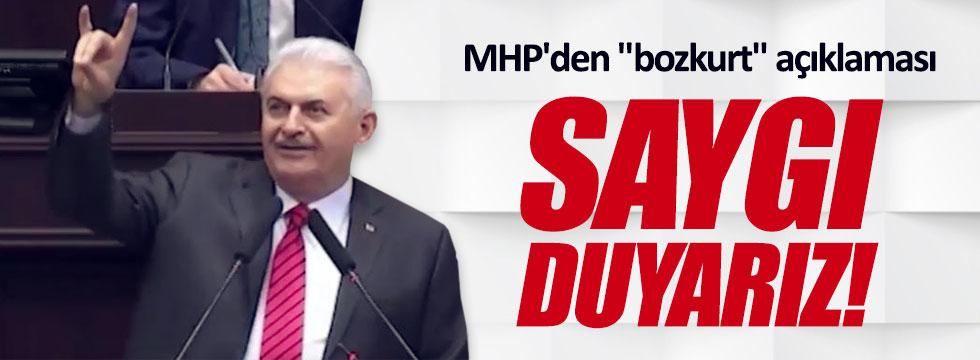 MHP'den 'bozkurt' açıklaması
