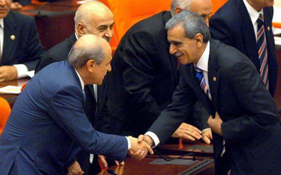 Ahmet Türk, Devlet Bahçeli ile görüştü!
