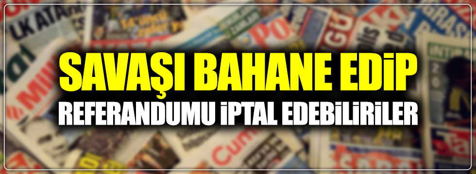 Günün Ulusal Gazete Manşetleri - 23 02 2017
